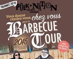 Il est temps de réserver sa date pour faire jouer le Polk Nation à votre BBQ estival !